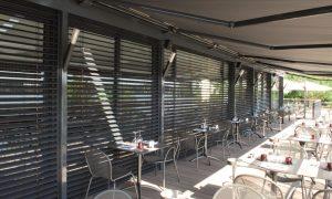 Stores brise soleil orientables - BSO