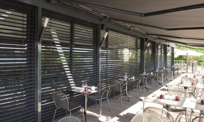 Stores brise soleil orientables - BSO