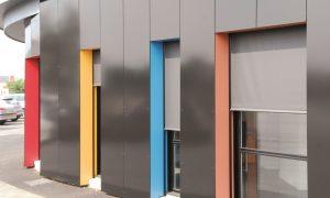 stores coffres extérieurs protection solaire - store vertical occultation