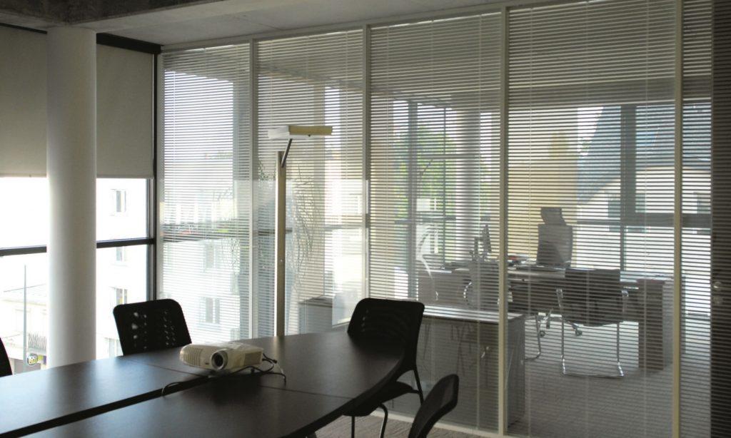 store vénitien alu entre vitrage - stores interieurs pour cloison vitrée