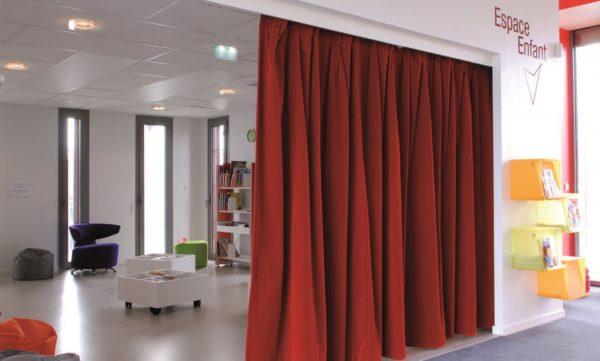 rideaux pour professionnels - rideaux occultation totale - pare-soleil M1