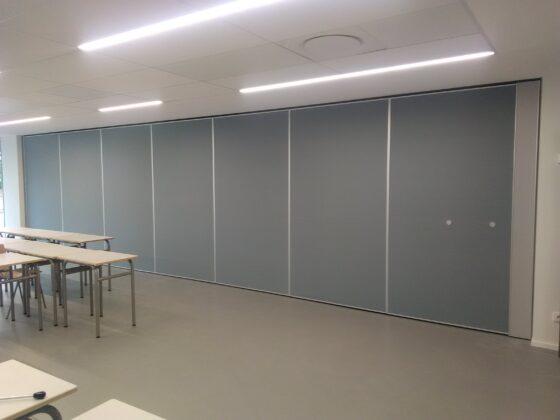 murs mobiles pour collège Saint exupéry Lesneven - cloisons mobiles