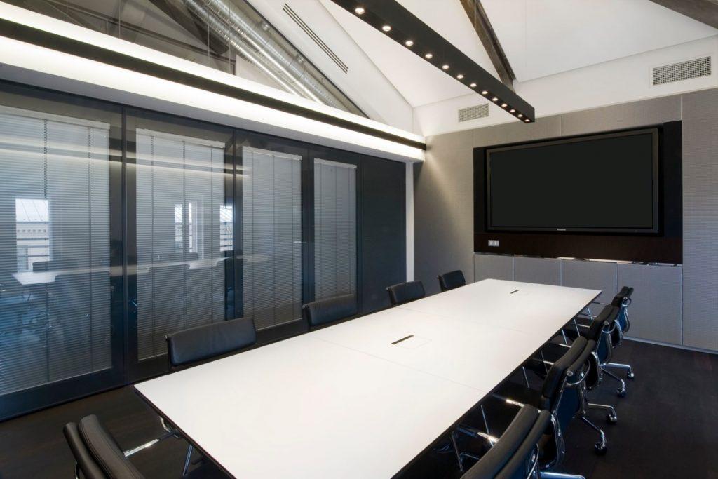 cloisons mobiles vitrées acoustique - séparation d'espace bureaux