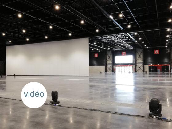 mur mobile grande hauteur - Hall Expo Bordeaux