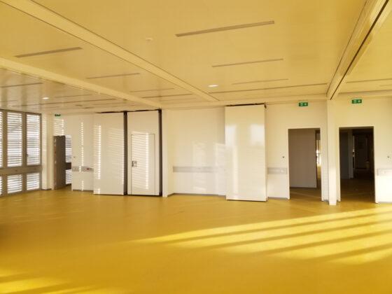cloisons mobiles - réalisation Eole pour le Kedge business school Toulon
