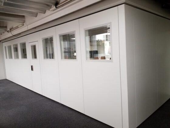 murs mobiles avec angle droit - cloison mobile