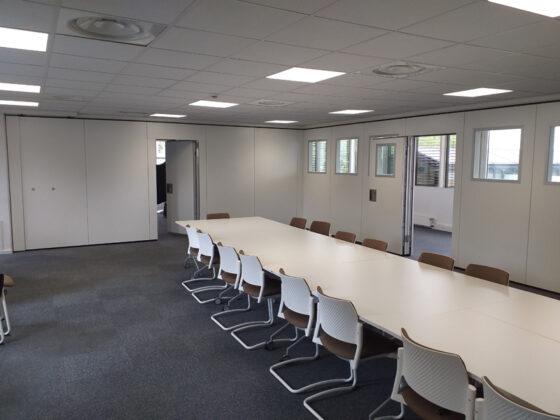 cloisons amovibles pour salles de réunion - cloisons mobiles