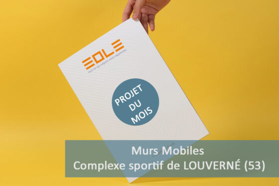 Murs mobiles - Projet du Mois EOLE