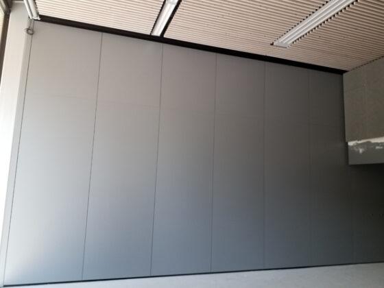cloison mobile isolation phonique - mur mobile pour gymnase