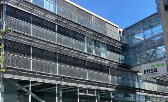 Pose de BSO - Ecole d'Archi Nantes - EOLE
