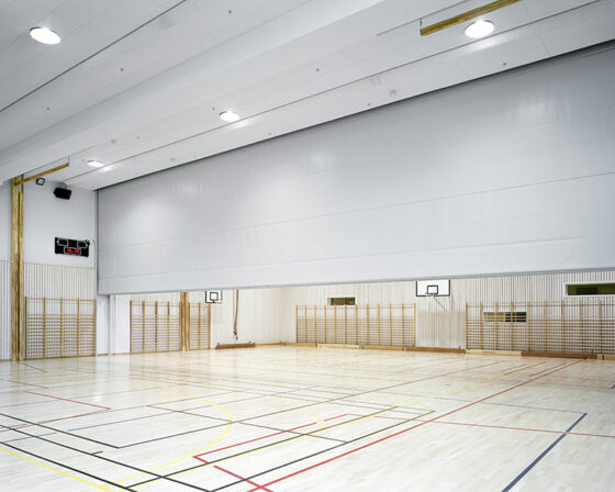 Rideau diviseur pour gymnase - rideaude séparation salle de sport