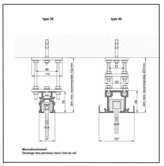 Fices techniques des rails et panneaux - v