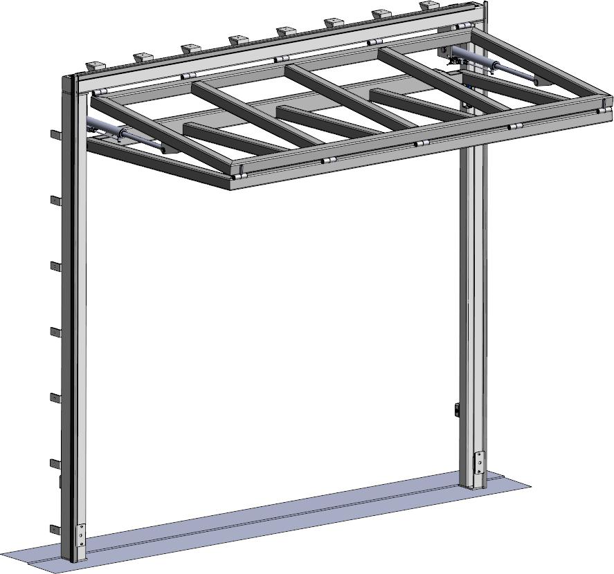 porte-relevante bifold - plan 3D Eole