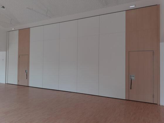 cloison mobile salle polyvalente - mur mobile