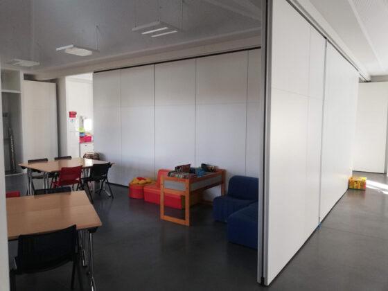 murs mobile en T - cloisons mobiles acoustiques